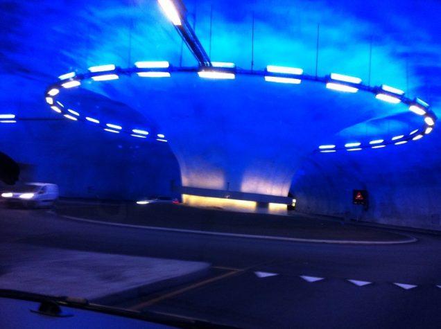 Norwegen Bu Tunnelen