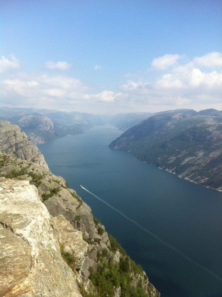 Norwegen Lysefjorden