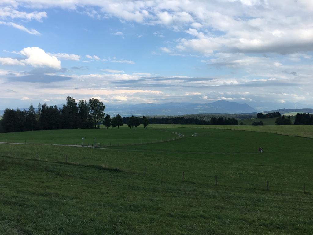 Alpen bei Isny