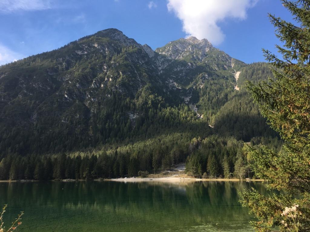 Alpencross - Toblacher See