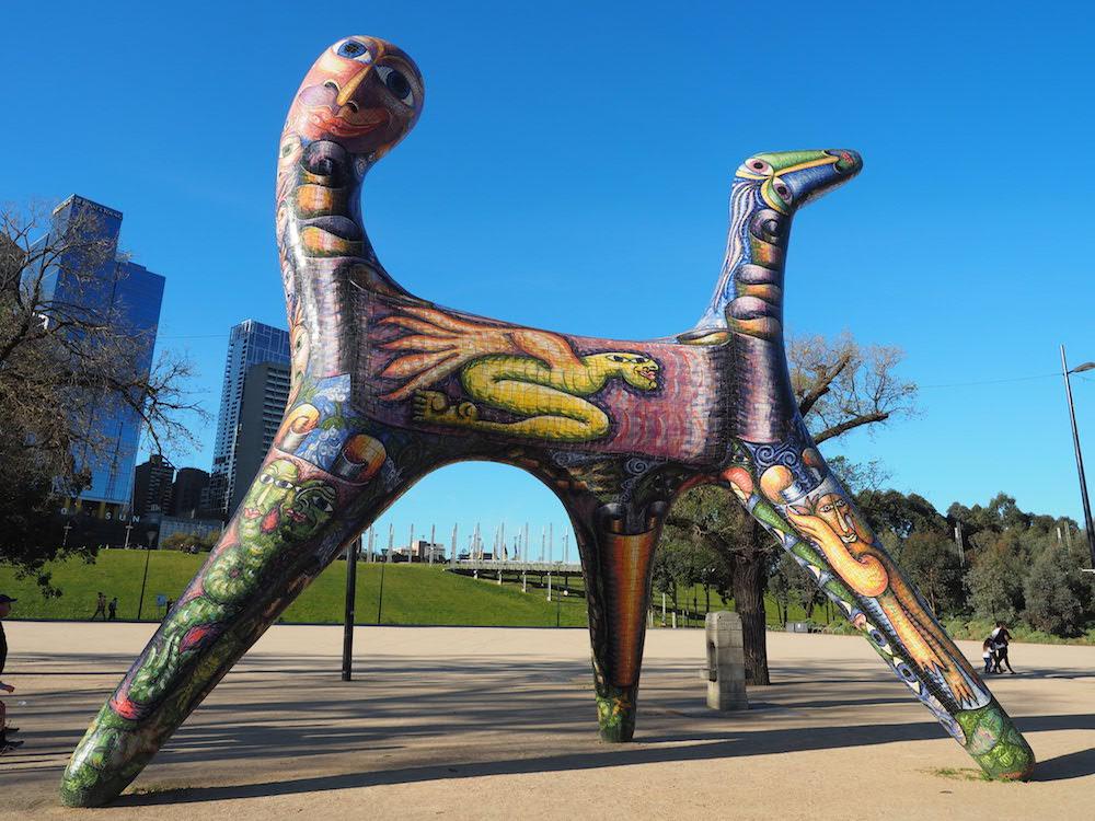Melbourne - Birrarung Marr Park