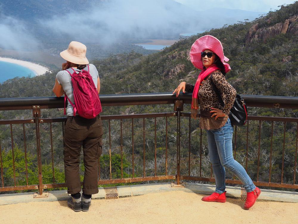 Mit Camper in Tasmanien - Wineglass Bay